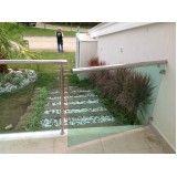 quanto custa portãozinho de vidro para escada em Interlagos