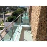 quanto custa vidros para varandas na Vila Buarque